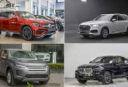 10 SUV hạng sang chào nhà giàu Việt trong năm 2020