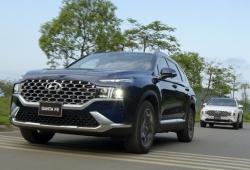 5 dấu ấn trên Hyundai Santa Fe 2021 vừa ra mắt