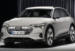 Audi ra mắt SUV thuần điện E-Tron, cạnh tranh trực tiếp với Mercedes Benz EQC