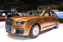 Aurus Senat xe 'siêu sang nước Nga' có giá chỉ từ 5,6 tỷ đồng