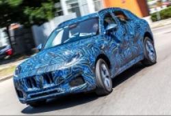 Bắt gặp Maserati Grecale ngụy trang trên đường thử