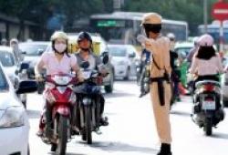 Bộ Công an đề xuất quay lại tính điểm trên giấy phép lái xe