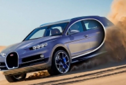 Bugatti sẽ sản xuất SUV, giá bán dự kiến khoảng 1 triệu USD