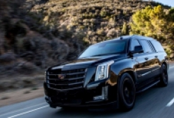 Cadillac Escalade có thêm bản độ bọc thép từ hãng độ AddArmor