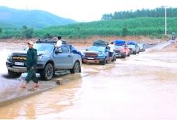 Cháy lửa đam mê, CLB Xe bán tải địa hình Bình Phước chung tay làm việc tử tế