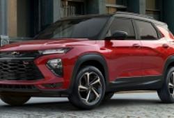 Chevrolet Trailblazer 2021 chính thức lộ diện