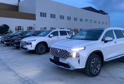 Đại lý Hyundai có sẵn Santa Fe giao ngay, bán đúng giá niêm yết