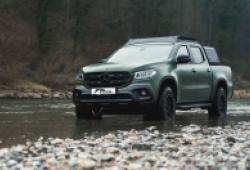 Đi săn cùng bán tải Mercedes-Benz X-Class