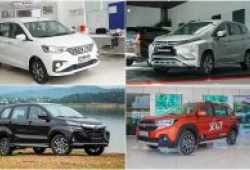 Điểm mặt các mẫu xe 7 chỗ có giá dưới 700 triệu đồng tại Việt Nam