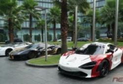 Đoàn siêu xe Car Passion có mặt tại Hà Nội