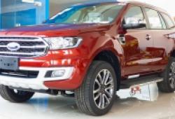 Ford Everest 2020 phiên bản nâng cấp về Việt Nam