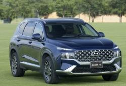 Giá lăn bánh Hyundai Santa Fe 2021 vừa ra mắt ra mắt, cao hơn trước từ 40 triệu