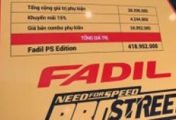 """""""Hàng hot"""" VinFast Fadil độ thể thao giá 419 triệu đồng"""