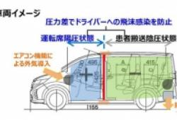 Honda ra mắt xe chuyên chở bệnh nhân Covid-19