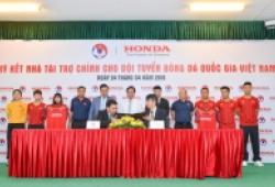Honda Việt Nam tài trợ cho các Đội tuyển bóng đá quốc gia