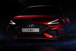 Hyundai i30 2020 lộ ảnh phác thảo trước triển lãm Geneva