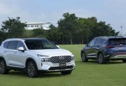 Hyundai Santa Fe 2021 ra mắt tại Việt Nam với giá 1,03 tỷ đồng