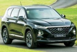 Hyundai SantaFe giảm 30 triệu đồng tại một số đại lý