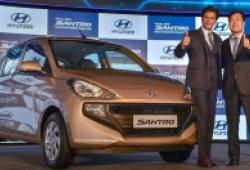 Hyundai Santro 2018 ra mắt tại Ấn Độ, giá từ 123 triệu, rẻ hơn cả i10