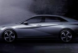 Hyundai tung ảnh Elantra 2021 trước ngày ra mắt