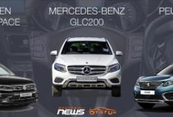 [Infographic] So sánh Volkswagen Tiguan Allspace, Mercedes-Benz GLC200 và Peugeot 5008