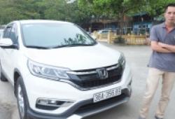Kết quả khó tin trong cuộc thử nhiên liệu Honda CR-V 2.0 2015 của diễn đàn Otofun