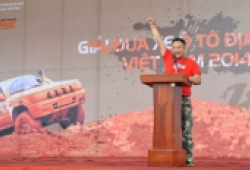 Khai mạc Giải đua xe địa hình Việt Nam 2014