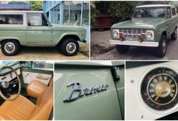 Khám phá hàng độc Ford Bronco sản xuất năm 1970
