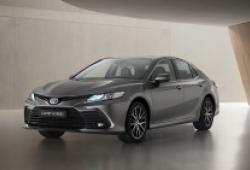 Khám phá Toyota Camry hybrid phiên bản nâng cấp tại châu Âu