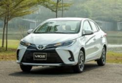 Lần đầu xếp trên Hyundai Accent, Toyota Vios vẫn vuột mất vị trí bán chạy nhất tháng