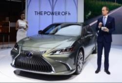 Lexus ES 300h công nghệ hybrid tiên phong khuấy đảo Vietnam Motor Show 2018