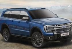 Lộ diện Ford Everest 2022, thiết kế 'ngầu' như F150
