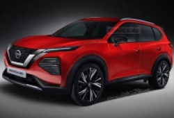 Lộ diện Nissan X-trail thế hệ mới với thiết kế vô cùng ấn tượng