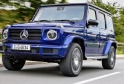 Mercedes-Benz G-Class phiên bản chạy điện sẽ ra mắt vào tháng 9