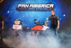 Mô tô Harley-Davidson Pan America ra mắt giá xấp xỉ 900 triệu đồng