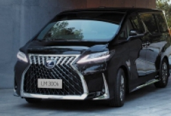 MPV hạng sang Lexus LM ra mắt tại Thái Lan, giá bán từ 4 tỷ đồng