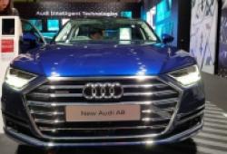 Ngắm Audi A8L lộng lẫy sắp ra mắt tại Triển lãm ô tô Việt Nam 2018