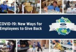 Nhân viên Ford Việt Nam quyên góp giúp đỡ cộng đồng đẩy lùi Covid-19
