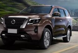 Nissan Terra mới sẽ ra mắt vào ngày 25/11