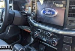 Rò rỉ hình ảnh nội thất Ford F-150 thế hệ mới