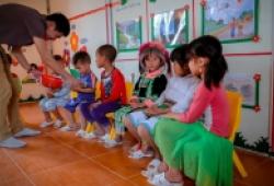 SABC 2018 ngày trở lại: Những ngôi trường mới trên đất Nậm Pồ
