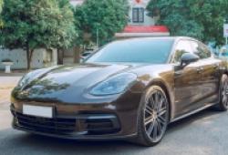 Sau một năm sử dụng, giá xe Porsche Panamera 2018 còn bao nhiêu?