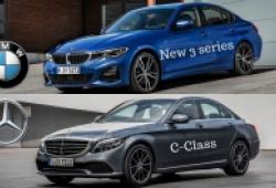 So sánh BMW 3-Series 2019 vừa ra mắt và Mercedes Benz C-Class