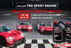 Sự kiện thay nhớt TRD Sport Engine - Trải nghiệm sức mạnh đường đua