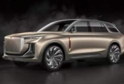 SUV Trung Quốc chạy điện sao chép thiết kế Rolls-Royce