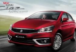 Suzuki Ciaz nâng cấp giá 386-498 triệu đồng tại Thái Lan