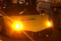 Tài xế Ferrari 488 GTB chửi cảnh sát giao thông bị khởi tố