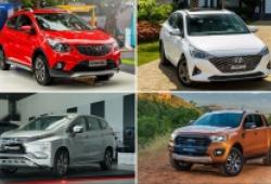 Top 3 mẫu xe bán chạy từng phân khúc trong tháng 4/2021