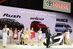 Toyota đưa i-ROAD cùng các mẫu xe 'con cưng' đến Vietnam Motor Show 2018
