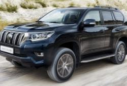 Toyota Land Cruiser hoàn toàn mới được giói thiệu vào tháng 8 tới